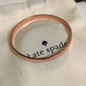 🎅🏻SALE🎅🏻BRAND NEW !Kate Spade rose gold bangle